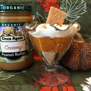 No bake pumpkin pie in a cup