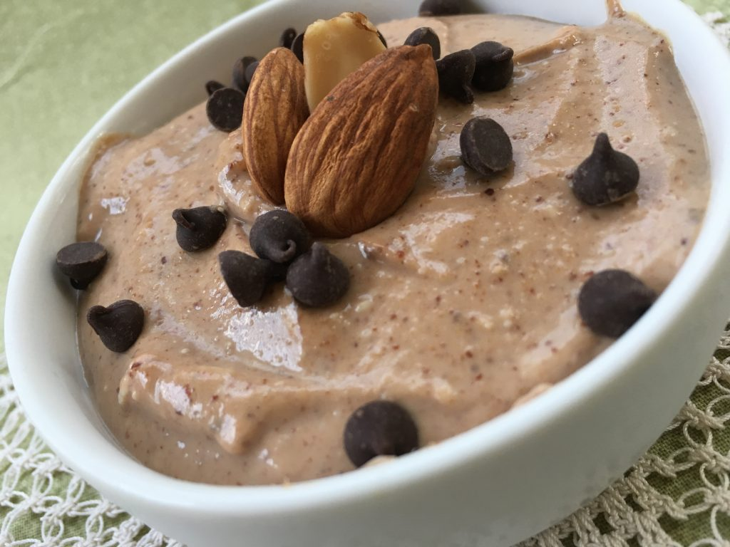 high protein chocolate mouse